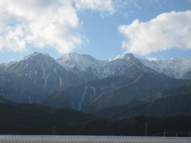 中央アルプス,南駒ケ岳