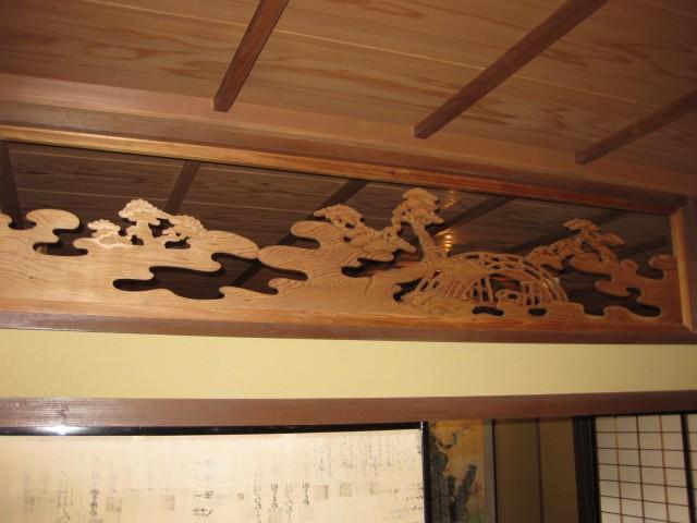 奈良・五條古い街並み散策,住吉大社の欄間