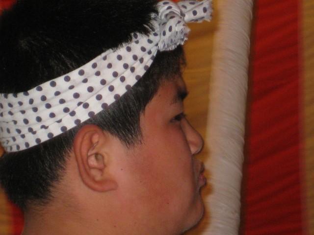 茨住吉神社夏祭り,亀甲太鼓