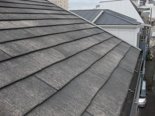 屋根塗装着工前