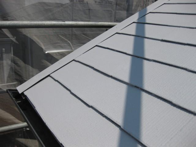 屋根遮熱スピンオオフ仕上げ
