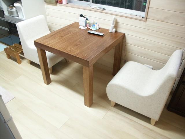 花梨のテーブル