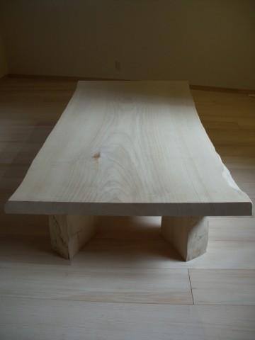 イチョウ座卓