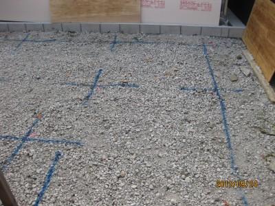 地盤改良湿式改良杭工事