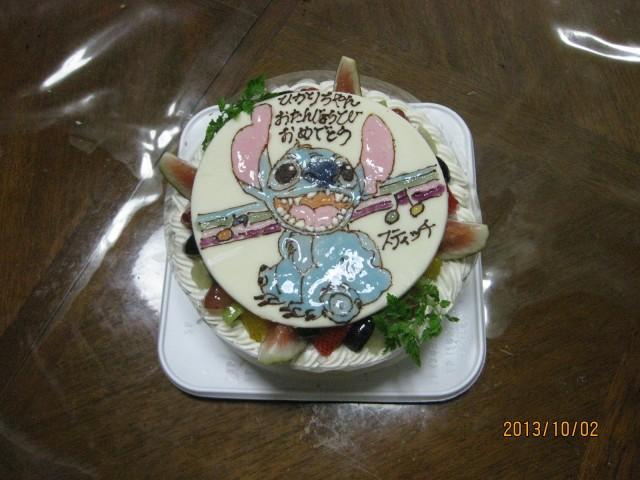 天使のたまごバースディケーキ