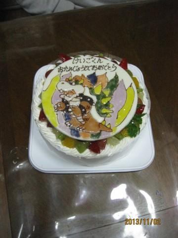 天たまキャラクターバースディケーキ