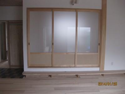 和室ガラス戸