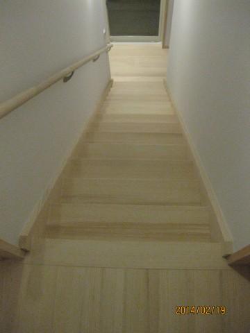 樅の木の階段