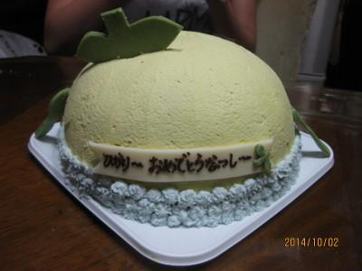 ふなっしーケーキ