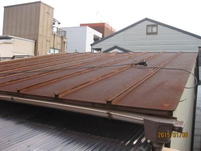 金属屋根のリフォーム