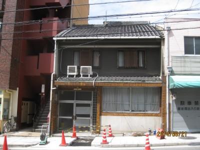 玄関戸入替,大阪の家,築100年の家