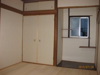 和室改修,木製建具工事