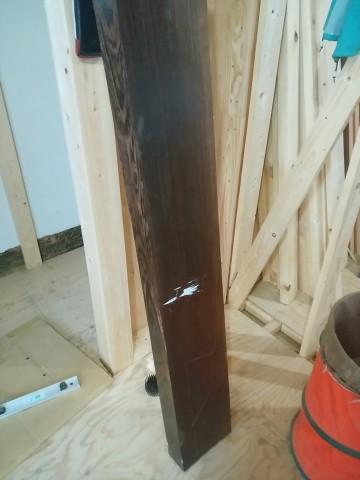 ウェンジ,無垢上り框,玄関,造作玄関収納