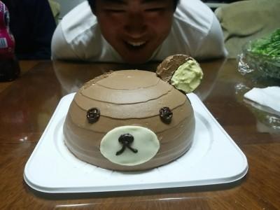 天使のたまご,バースデーケーキ,3Dケーキ,リラックマ
