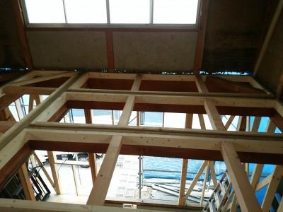 土壁の家,リノベーション改修工事,構造補強,剛床