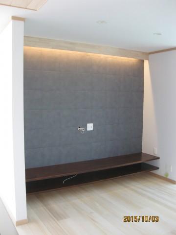 間接照明,ニッチ,オガファーザー,白い壁・天井,エコカラット