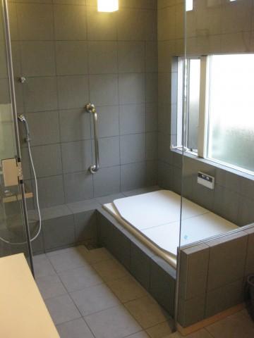 サーモタイル,タイル張り在来工法,断熱浴槽