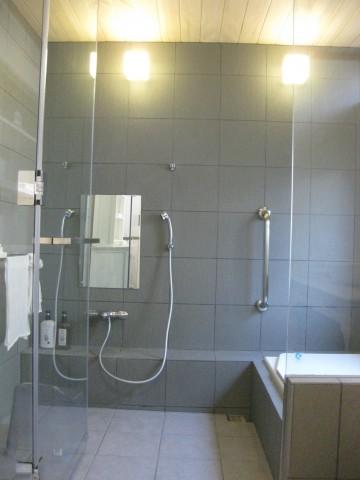 浴室土間断熱工事,スタイロフォーム充填,サーモタイル