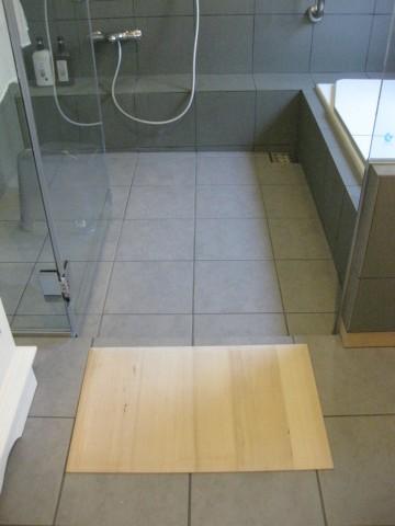 サーモタイル,タイル張り在来工法,断熱浴槽,もみのきバスマット