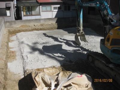 地盤改良工事,表層改良
