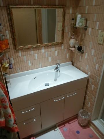 エコカラット,洗面脱衣室リフォーム,調湿性,消臭効果